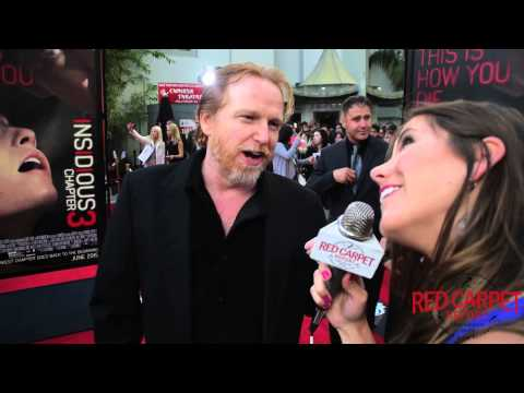 Courtney Gains at the World Premiere of Insidious Chapter 3 Movie InsidiousChapter3 Insidious