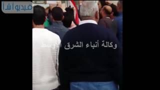 بالفيديو: استقبال حافل  لجورج وسوف بمطار القاهرة