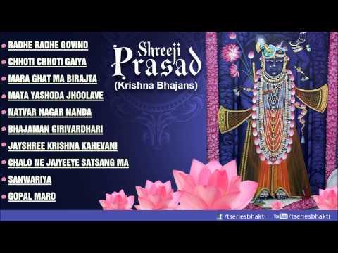 Krishna Bhajans Shreeji Prasad Part 1 I Full Audio Songs Juke Box I Shreeji Prasad