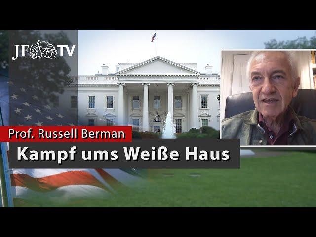 Kampf ums Weiße Haus (JF-TV Interview mit Prof. Russell Berman)