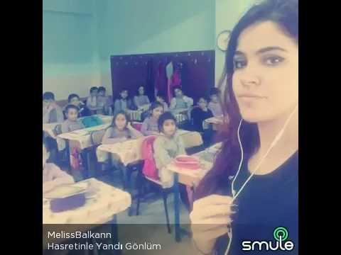 Hasretinle yandı gönlüm Melis Balkan (Canım öğrencilerimle)