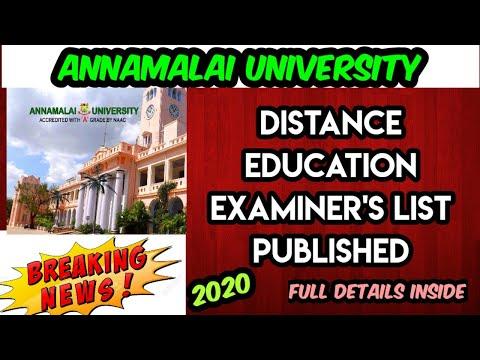 Annamalai University Distance Education   Annamalai University Latest News   Kitty Info4You   Tamil