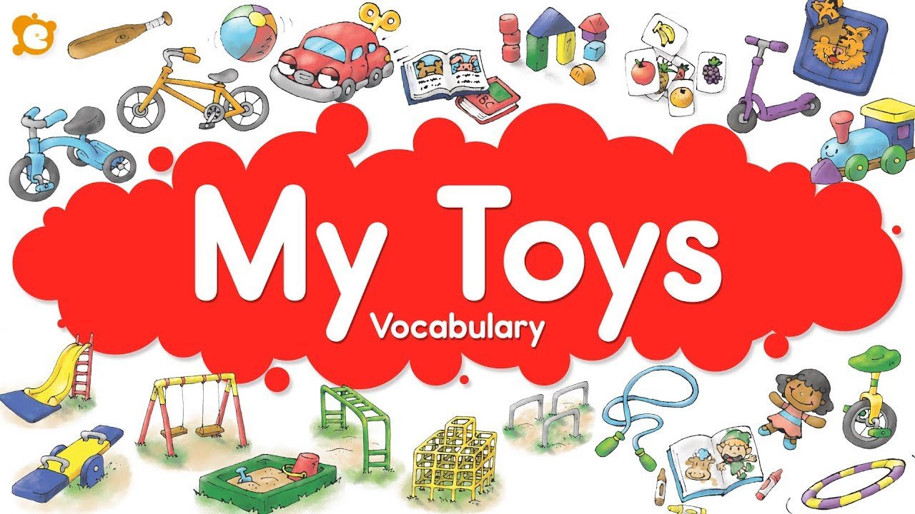 Toy Vocabulary Game : My toys vocabulary chant inside outside and playground