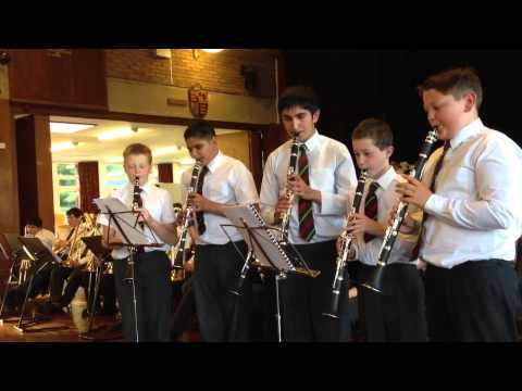 Queen Mary's grammar school year 7 music concert