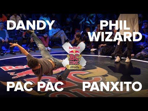 PAC PAC vs PHIL WIZARD vs DANDY vs PANXITO / PRELIM / RED BULL BC ONE 2017 LAST CHANCE CYPHER