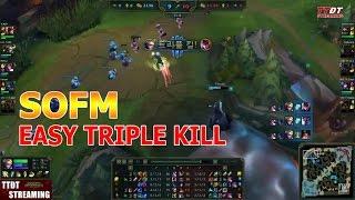 SofM EZREAL easy TripleKill!!!