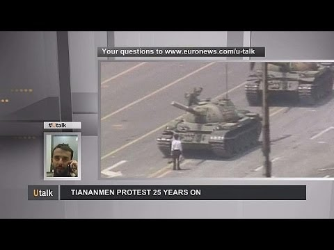 Legacy of Tiananmen Square 25 years on - utalk