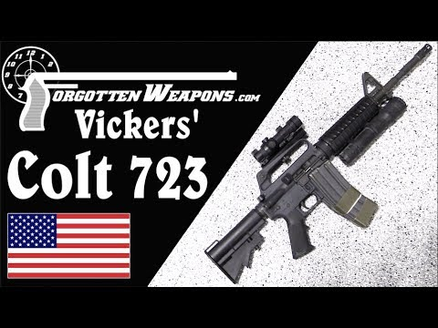 Larry Vickers&39; Delta Force Colt 723 Carbine