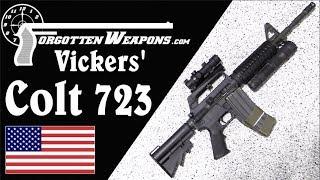 Larry Vickers' Delta Force Colt 723 Carbine