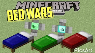 How to build a Bed wars map on Minecraft Xbox 360
