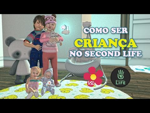 COMO SER UMA CRIANÇA NO SECOND LIFE