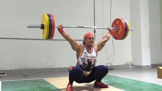 Team GB Weightlifters Training Before 2016 Rio Olympics
