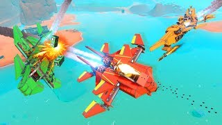 BUILDING THE STRONGEST BATTLE PLANES! - Trailmakers