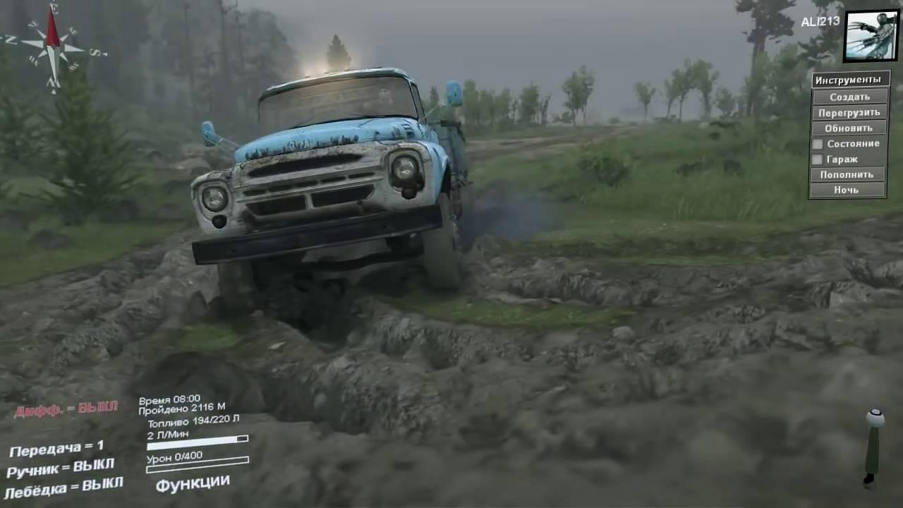 Скачать симулятор машин по грязи