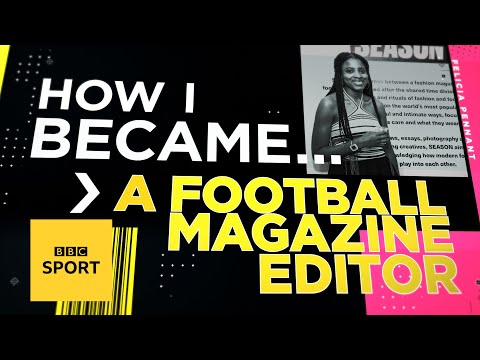 How I became a football magazine editor | BBC Sport