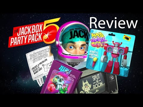 Jackbox Party Pack 5 Gameplay Review (5 Games)