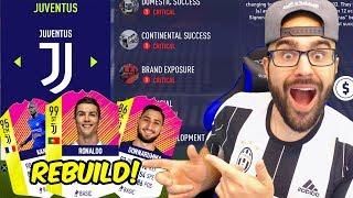 juventus rebuild cristiano ronaldo 100000000 transfer fifa 18 career mode