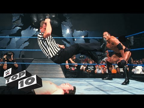 Thumbnail: When referees fight back - WWE Top 10