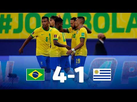 Brazil Uruguay Goals And Highlights