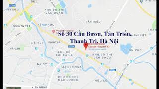 Địa chỉ, Lịch làm việc Bệnh viện K cơ sở 3 Tân Chiều, Hà Đông, Hà Nội