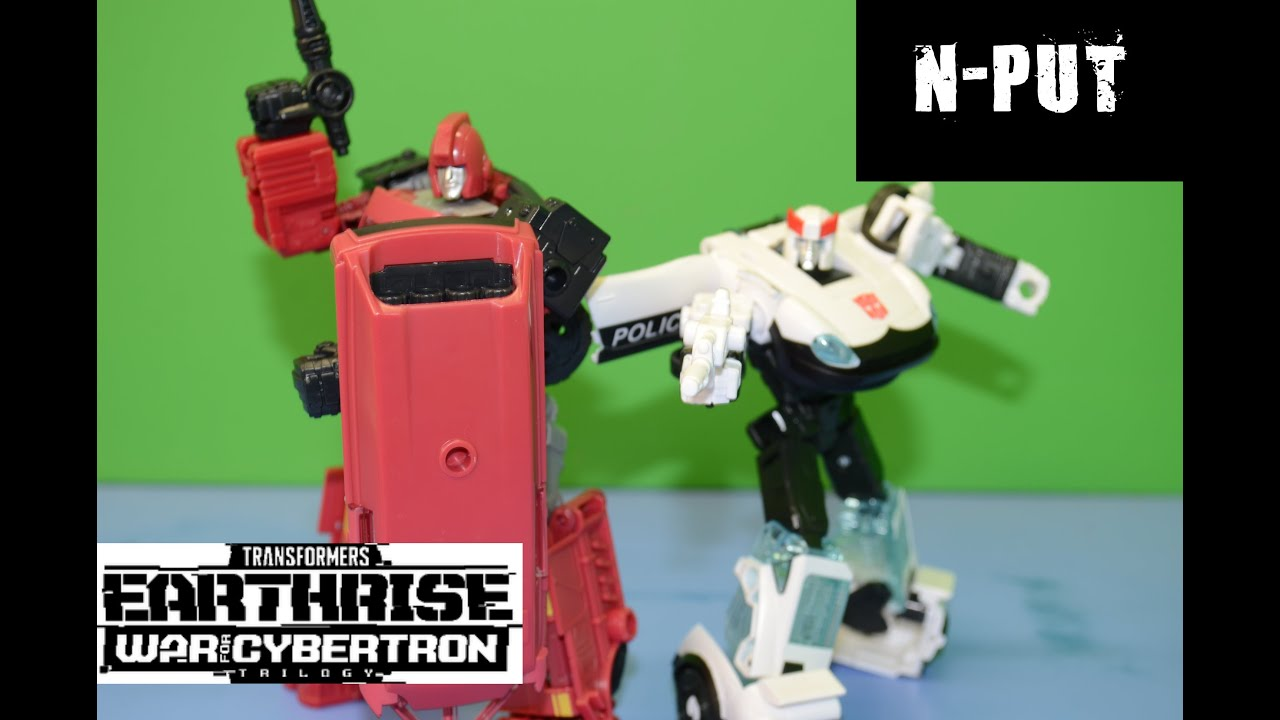 Transformers Earthrise Prowl and Ironhide Amazon 2 pack Review By N-PUT