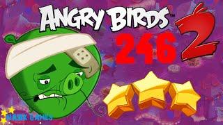 Angry Birds 2 - 3 Stars Walkthrough Level 246 BOSS [4K 60FPS]