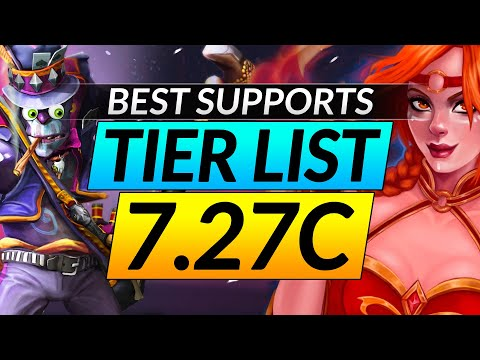 NEW 7.27C BROKEN Support Heroes Tier List: Ranking the Best and Worst Picks – Dota 2 META Pro Guide