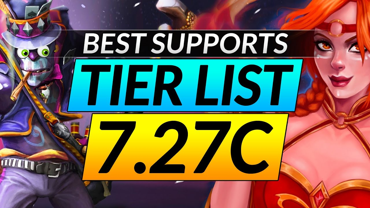 New 7 27c Broken Support Heroes Tier List Ranking The Best And Worst Picks Dota 2 Meta Pro Guide Youtube