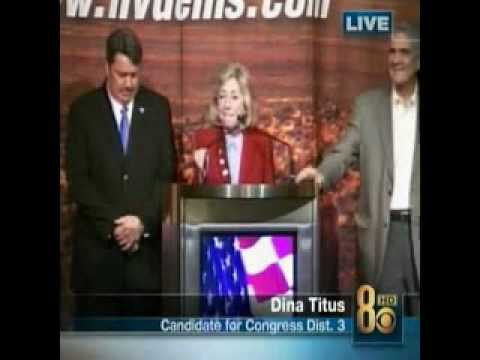 Dina Titus: Victory Speech