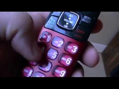 Red VTech Cordless Telephone Ringtones