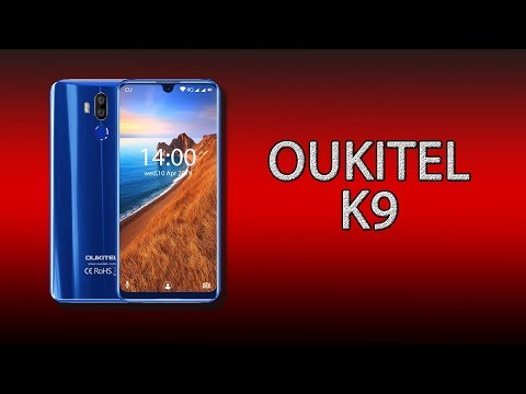 Oukitel K9 - таким должен быть настоящий фаблет!