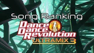 Dance Dance Revolution ULTRAMIX 3: Song Ranking