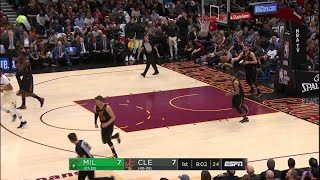 1st Quarter, One Box Video: Cleveland Cavaliers vs. Milwaukee Bucks