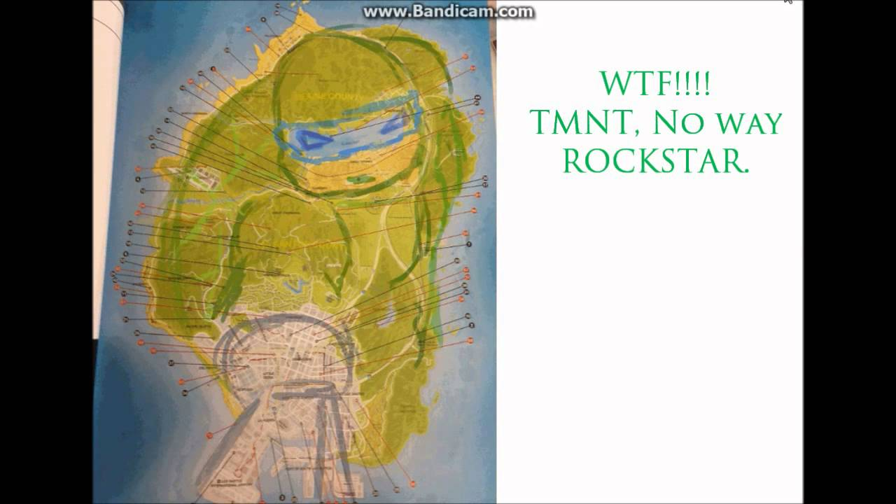 GTA V To Map The Biggest FAIL Ever TMNT Must See YouTube