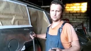 Кузовной ремонт: подготовка и сварка задних крыльев