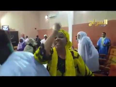 La deputee mauritanienne est president  ensemble  Mauritania  il a aempece de la est parler langue