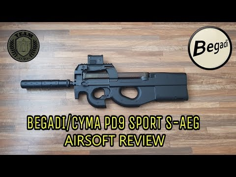 "[REVIEW] BEGADI PD9 SPORT ""SD"" S-AEG"