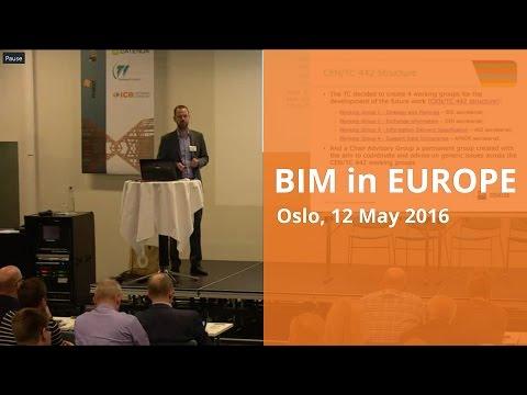 International BIM standardisation work in CEN and ISO with Espen Schulze
