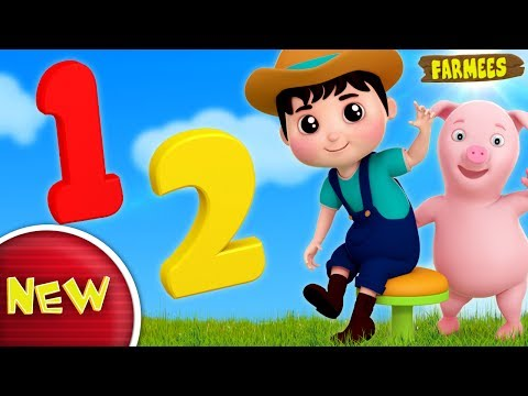 One Two Buckle My Shoe | Nursery Rhymes For Kids | Children Songs by Farmees S02E177