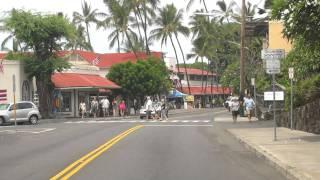 Cruising through Kailua-Kona, Hawaii