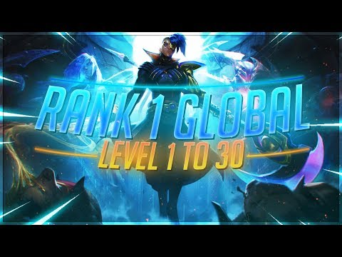 TFBlade | HOW TO HIT RANK 1 FROM LEVEL 1 WITH ANY ROLE