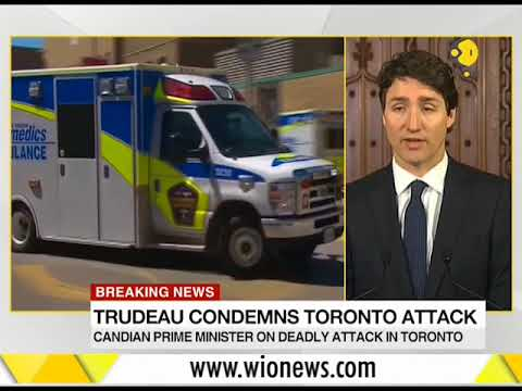 Breaking News: Canadian Prime Minister Justin Trudeau condemns Toronto attack