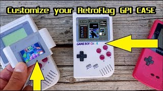 "Retroflag GPI ""GameBoy"" case : Custom Logo's & Cartridge Labels D.I.Y."