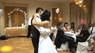 Elvis Presley, Michael Jackson, N'Sync, Beyonce - The Best wedding Dance! by Javier and Aliya Garcia