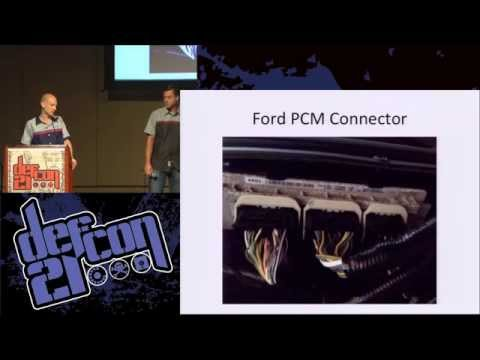 DEF CON 21 - Charlie Miller and Chris Valasek - Adventures in Automotive Networks and Control Units