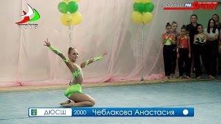 Весенние Ласточки-2015 Чеблакова Анастасия Мяч Нижняя Тура