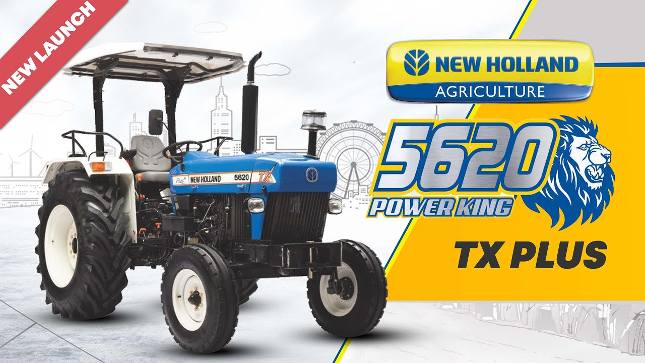 Latest- New Holland 5620 TX Plus Tractor- 65 HP- Price Features & Specifications | Hindi