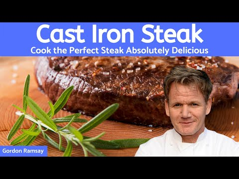 Cooking a Steak with Gordon Ramsay