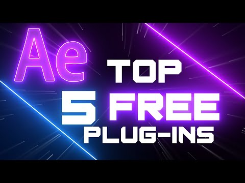 Top 5 Free After Effects Plug-ins!