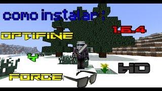 Minecraft Mods : Como Instalar Minecraft Forge y Optifine [1.6.4] HD